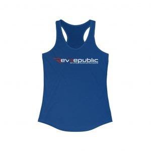 RevRepublic Logo Women's Racerback Tank - RevRepublic   Driving Automotive Culture