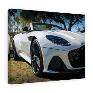 Aston Martin DBS Superleggera Volante Canvas Print - RevRepublic | Driving Automotive Culture