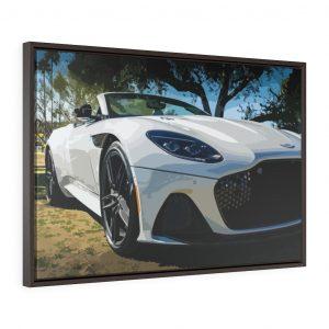 Aston Martin DBS Superleggera Volante Framed Canvas - RevRepublic | Driving Automotive Culture