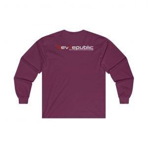 RevRepublic Logo Long Sleeve - RevRepublic   Driving Automotive Culture