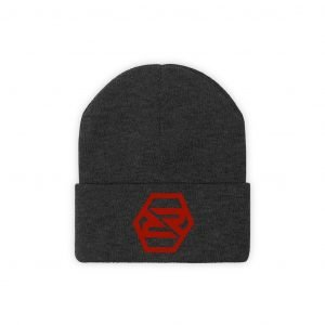 RR Logo Embroidered Knit Beanie - RevRepublic   Driving Automotive Culture